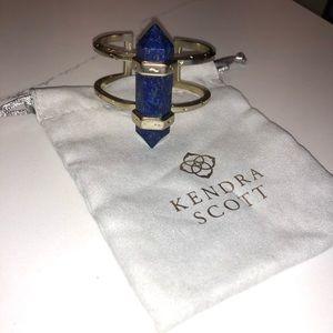 KENDRA scott blue onyx cuff bracelet